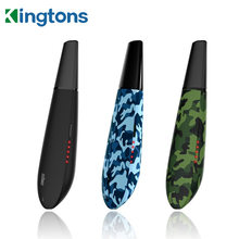 מקורי Kingtons שחור ממבה blk יבש הרב מאדה 1600 mah סוללה הרב קאמרי אלקטרוני סיגריה צמחים vape עט