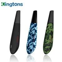 Kingtons-vaporizador de hierbas secas Black Mamba blk, Original, batería de 1600mah, cámara de hierbas, cigarrillo electrónico, vaporizador herbal