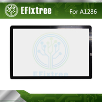 2009 2010 2011 2012 Year A1286 LCD Panel Glass For Macbook Pro 15 Front Panel Cover With Adhesive EMC 2556 EMC 2563