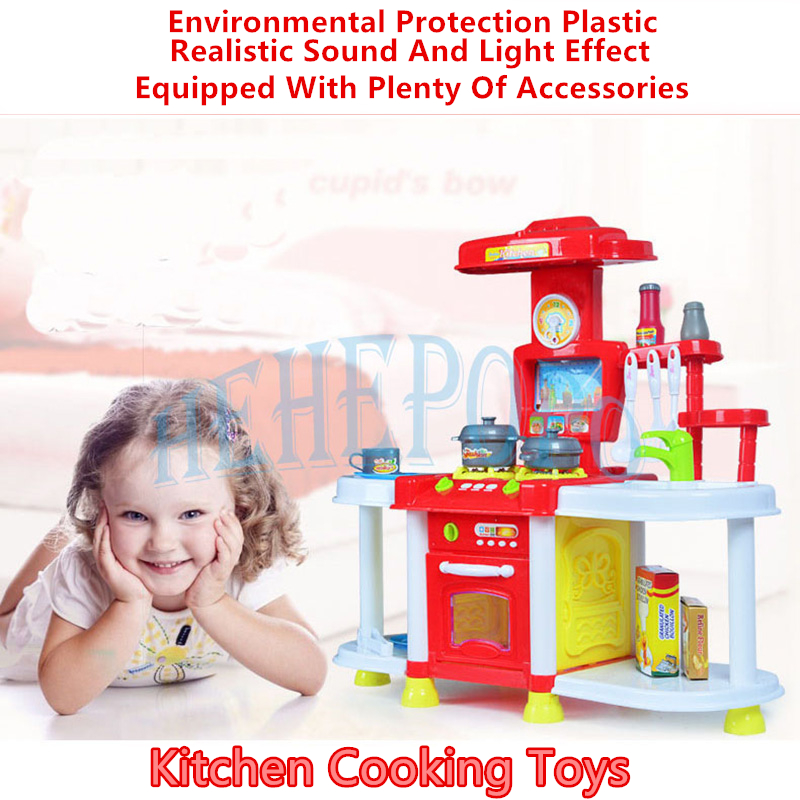 Early Educational Children's Puzzle Models Funny Creative Toys Baby Kitchen Cooking Toys Light Kitchenware Pretend Play gift children s early childhood educational toys the bear change clothes play toys creative wooden jigsaw puzzle girls toys