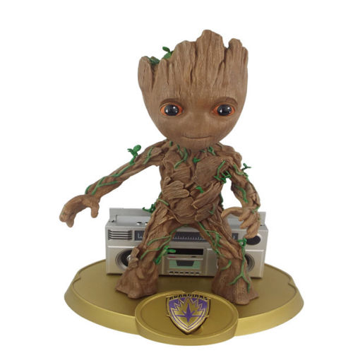 Guardians of The Galaxy Vol.2 Baby Gro Loudspeaker Figur Figure NIB Anime Figure Collectible Model Toy