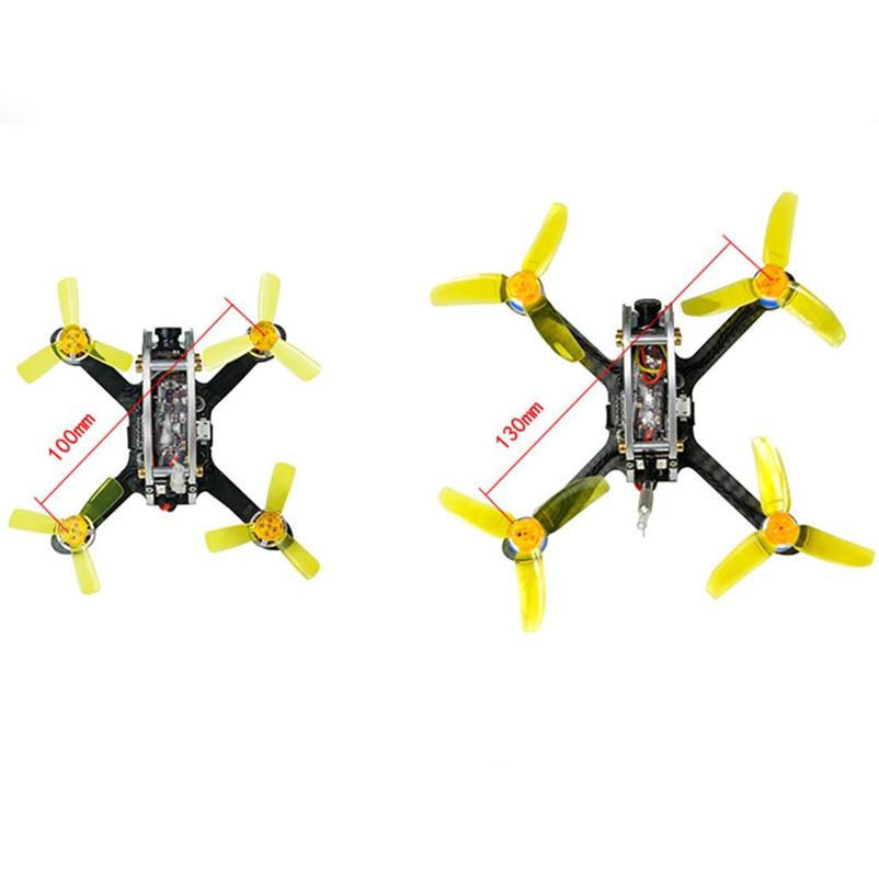 100/130 PNP Unutarnji FPV Racer Mini Brushless Drone KINGKONG Fly Egg - Igračke s daljinskim upravljačem - Foto 4