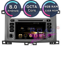 Roadlover Android 8.0 Car PC DVD Player For Toyota Land Cruiser 100 1998 2007 LC 100 Lexus LX 470 Stereo GPS Navigation Magnitol