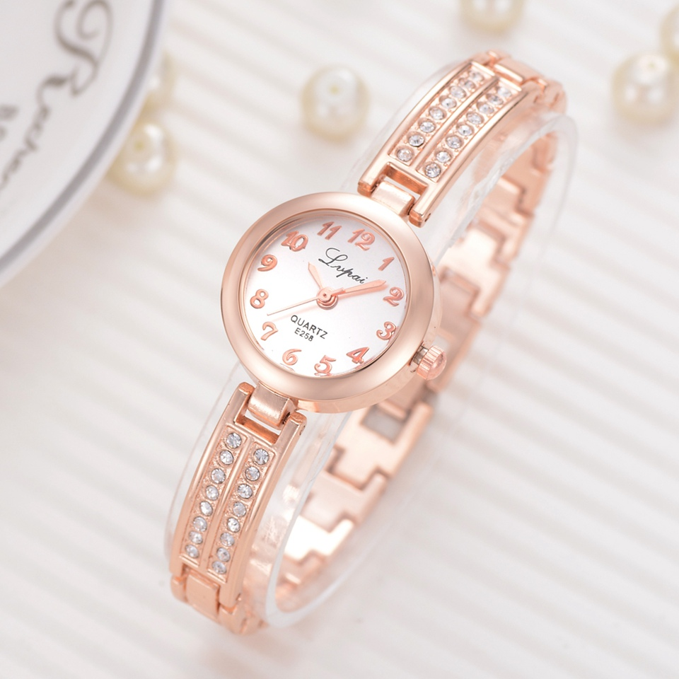Bracelet Watches For Women Luxury Top Brand Dress Quartz Clock Fashion Ladies Simple Rose Creative Wrist Watch Reloj Mujer 3d bee fashion watches women dress watch top brand rose gold wrist watch for women mesh strap ladies clock woman reloj mujer hot