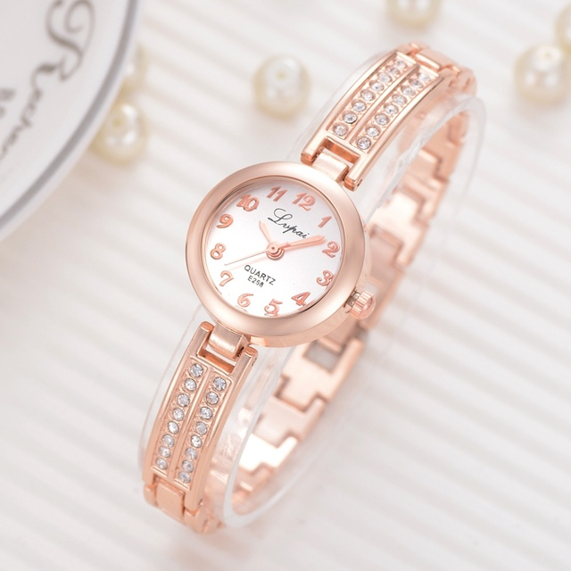 Bracelet Watches For Women Luxury Top Brand Dress Quartz Clock Fashion Ladies Si