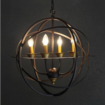 Metal Creative American Loft Pendant Lamp With 2 Lights For study hall Coffee,Metal Global,E27 Bulb Included global elementary coursebook with eworkbook pack