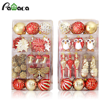 Christmas Decoration Set Christmas Tree Christmas Ornament Hanging Decorations For Festival Party Home Wedding Decor