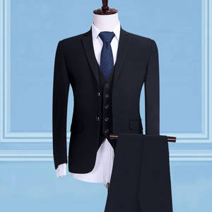 natazh Slim fit Classic Male Suit Men 3 Pieces