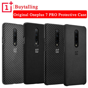 Image 2 - 100% Original OnePlus 7 Pro Case OnePlus 7 Pro Bumper Case Karbon Nylon Official Protective Cover