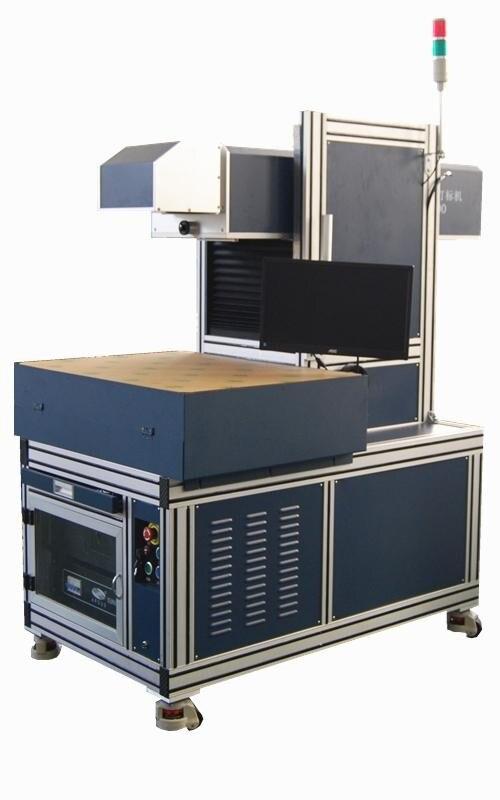 Máquina de marcado láser de jeans de área de trabajo de 600x600mm