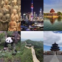 China Tour Guide :Cartoons learn Chinese Travel Culture English Paperback colouring book. knowledge is priceless 145