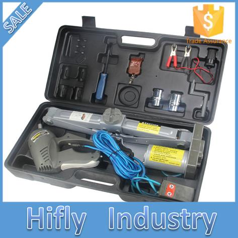 Max poids de la charge 5000 KG Sans Fil télécommande Auto électrique hydraulique jack clé à chocs ascenseur de voiture SUV de réparation de pneus outil kit