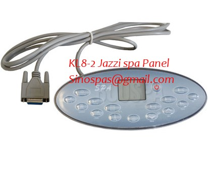 Jazzi, Escape spa hot tub topside control panel ONLY,spa front ...