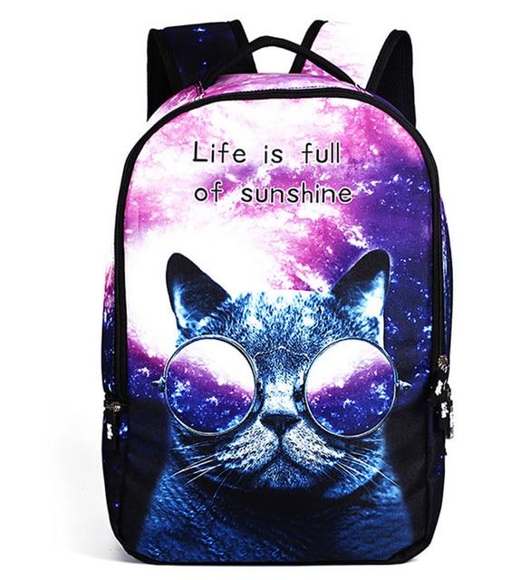 3d рюкзаки с кошками рыболовный жилет с рюкзаком