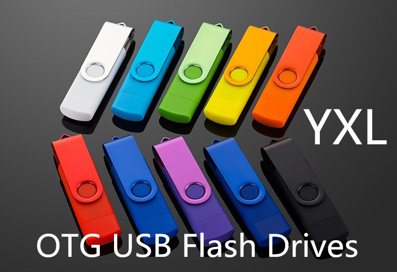 Mix color wholesale USB Flash Drive 16gb pendrive OTG Smart Phone 8gb usb 32gb 64gb 10PSC/1bag