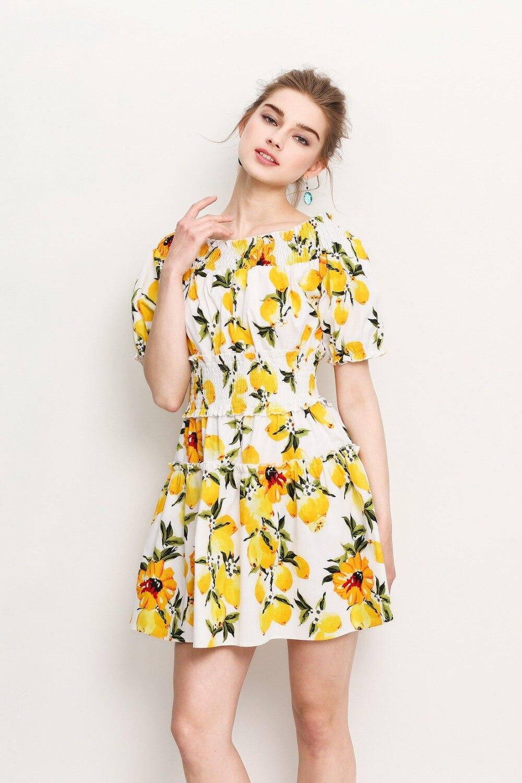 Online Get Cheap Designer Floral Cute Dress -Aliexpress.com ...