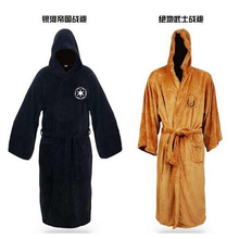 Star Cosplay Wars Robe Darth Vader Cosplay Costume Terry Jedi Robes Adult Bathrobe Halloween Costume for