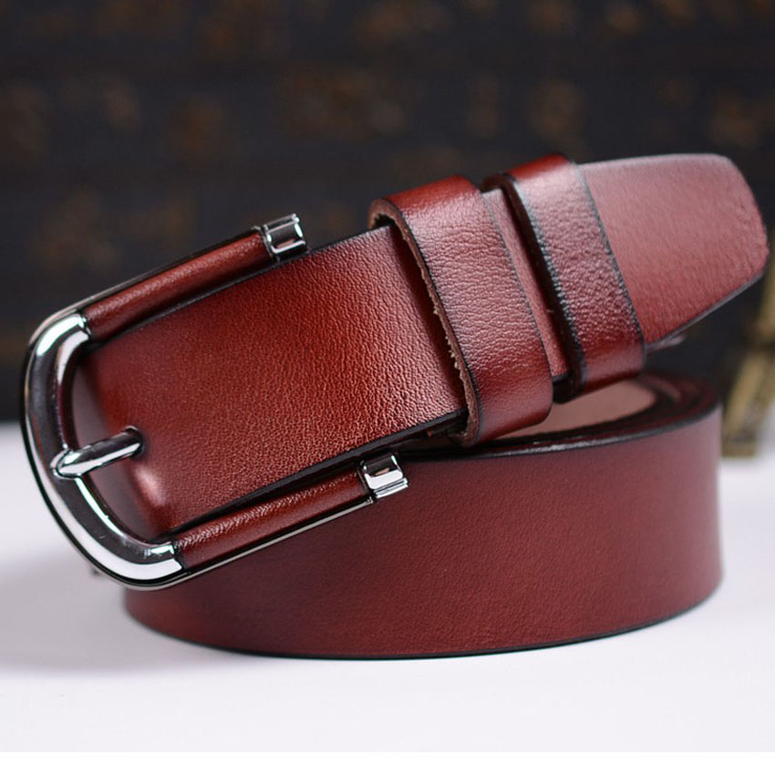 Quality Assurance tactical belt Fashion women genuine leather belts for women Hot Sale female strap in Men 39 s Belts from Apparel Accessories