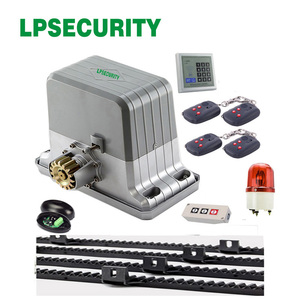 Image 4 - LPSECURITY Waterproof Sliding Automatic and Remote Control Gate Opener for 1800kg Portal Weight Sliding Gate Operater Enginee