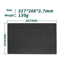 Силиконовая прокладка 327 мм × 206 изоляционная противоскользящая
