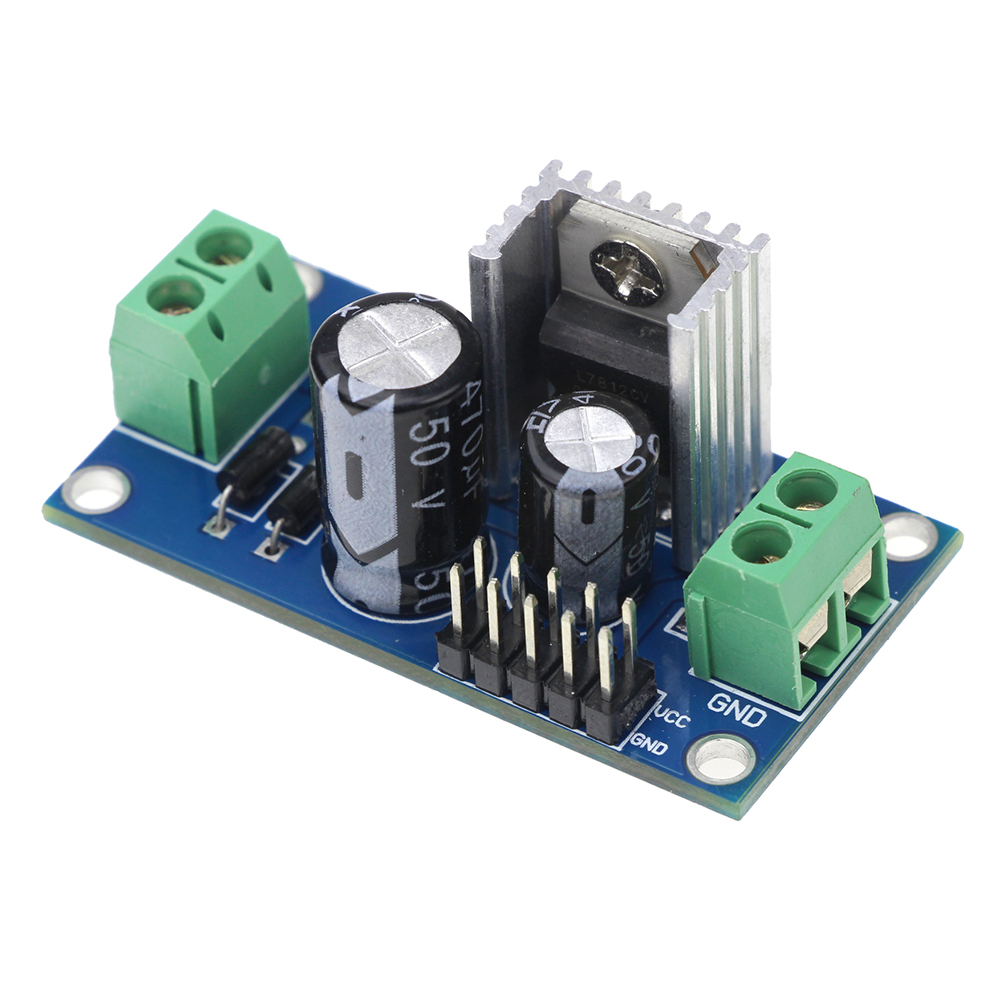 Online Shop Ac Dc 12v 15a Voltage Regulator Filter Rectifier Power Supply Simple 12vac To 12vdc Module L7812 Step Down Aliexpress Mobile