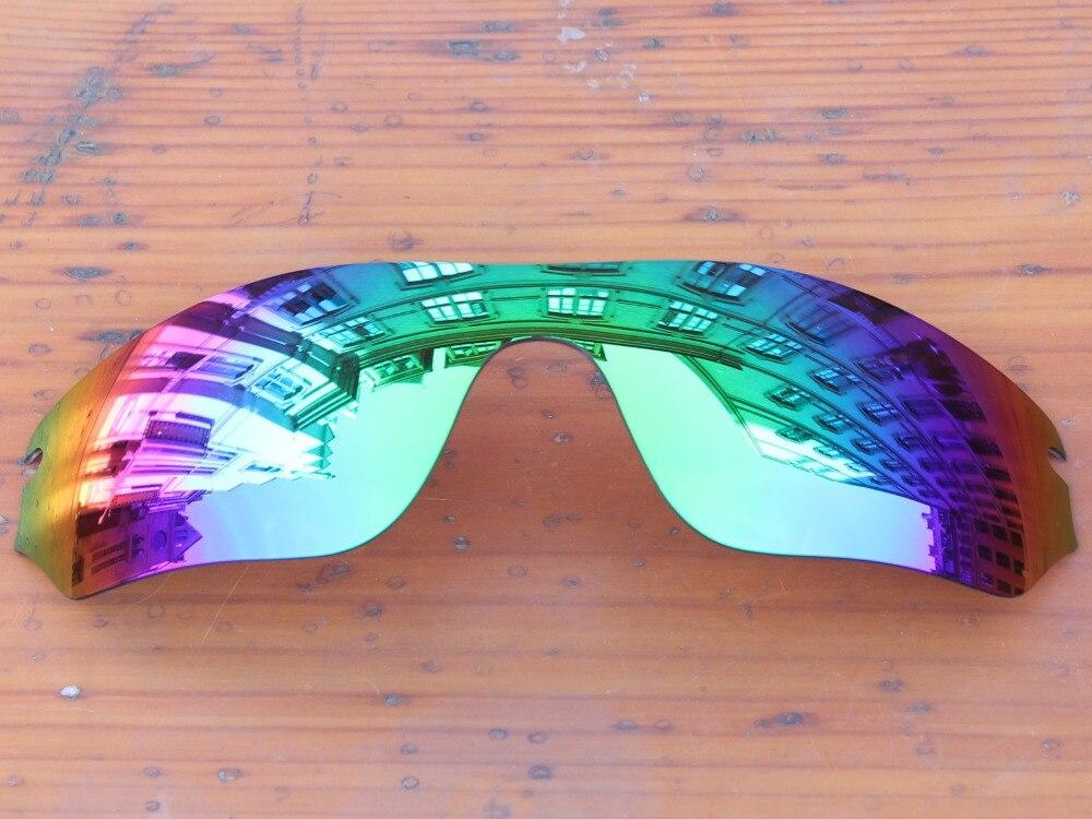 702884242bdce PapaViva POLARIZADA Lentes de Substituição para o Radar óculos de Sol Borda  100% UVA   Uvb Várias Opções em Óculos de sol de Acessórios de vestuário no  ...