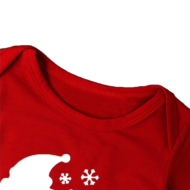 """""""My First Christmas!"""" 2PC/Set - Long Sleeve Cotton Onsie + Deer Pants X-Mas Outfit 4"""