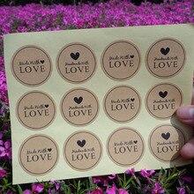 102szt Naklejki LOVE