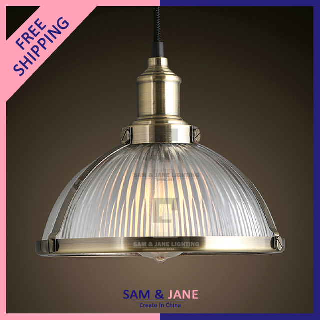 E Silver Vintage Pendant Light Fixtures Industrial Modern Lamp - Brass kitchen light fixtures