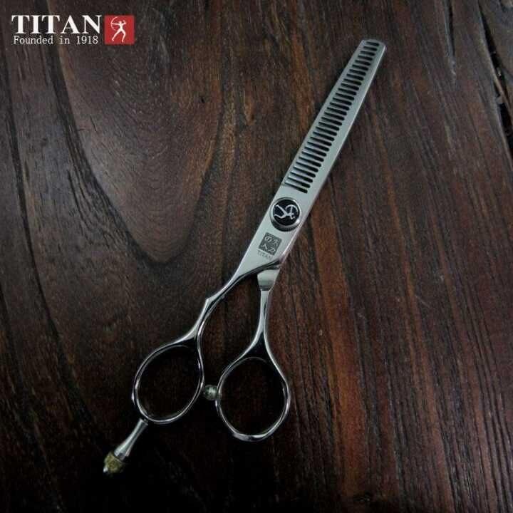 Güzellik ve Sağlık'ten Saç Makasları'de Profesyonel kuaför kesim sol kolu saç inceltme makası ücretsiz kargo'da  Grup 1