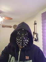 Watch Dogs Aiden Pearce Half Face MASK Windproof Neck Warmer Game Cosplay