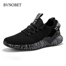 BVNOBET Brand Men Casual Shoes Fashion Breathable Summer Mes
