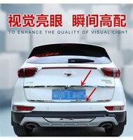 자동차 부품 스테인레스 스틸 자동차 트렁크 트림 테일 도어 트림 새로운 기아 Sportage KX5 2016 2017 자동차 스타일링|크로뮴 스타일링|자동차 및 오토바이 -