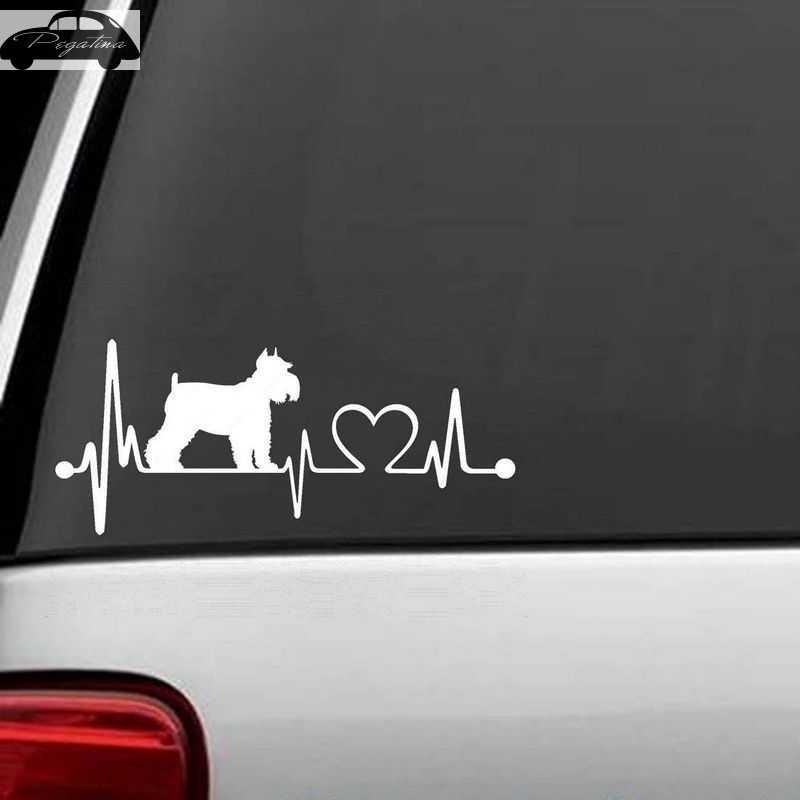 Автомобиль шнауцер собака стикеры Pet Shop наклейка плакаты виниловые настенные художественные наклейки Quadro Parede Декор Фреска Pet Shop стикер