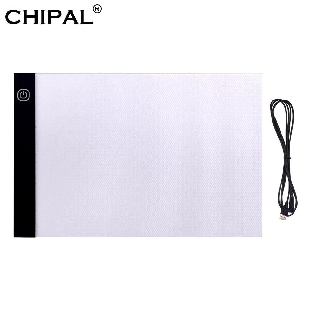 Almohadilla de regulador de luz LED A3, caja de luz de gran tamaño, tablero de copia, pintura, escritura, tableta de dibujo para pintar bocetos, animación