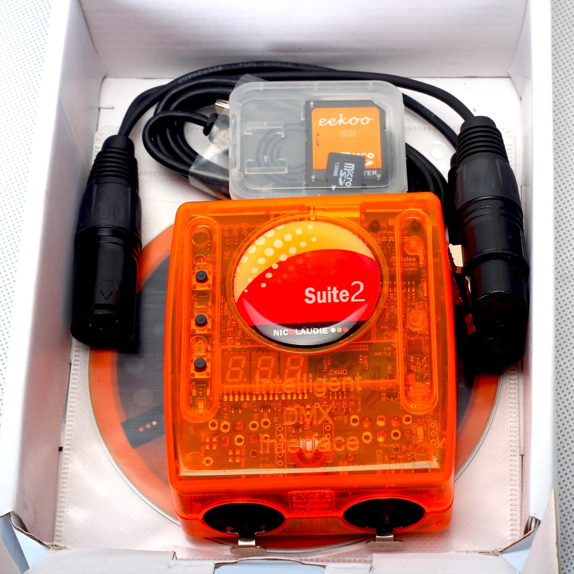 Sunlite 2 FC+ 1024 Professional Stage controlling software Sunlite Suite 2 FC DMX-USB interface DASLIGHT dmx controller console