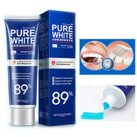 120g BIOAQUA Herbal Fresh Mint Toothpaste Bleaching Remove Yellow Spots Unpleasant Odor Iz Mouth And Improve Gum Bleeding