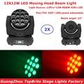 2 шт./лот 12X12 Вт моющиеся движущиеся светодиодные лампы 12X12 Вт RGBW 4 вида цветов светодиодные движущиеся лампы для мытья головы прямые продажи ...