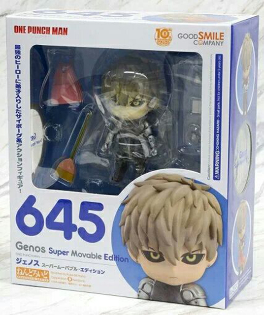 One Punch Man Genos Nendoroid Action Figure 645