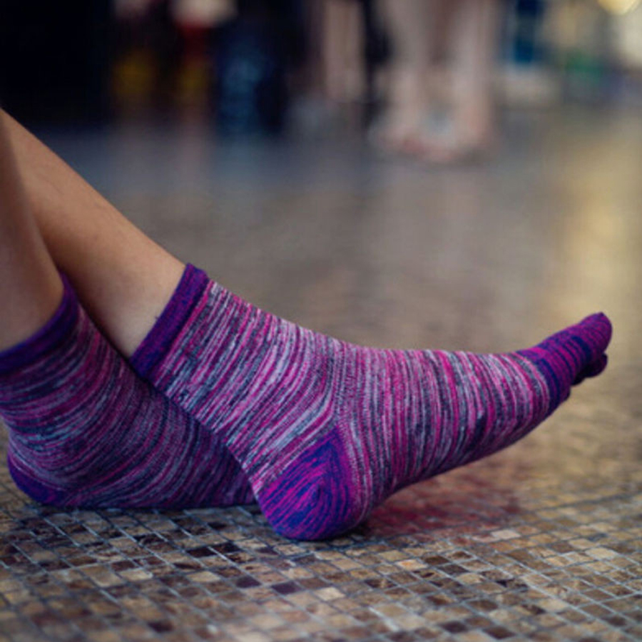Image 5 - VERIDICAL 5 Pairs toe socks for man cotton colorful Five Finger Socks meia masculina funny socks sokken vintage mans socksMens Socks   -