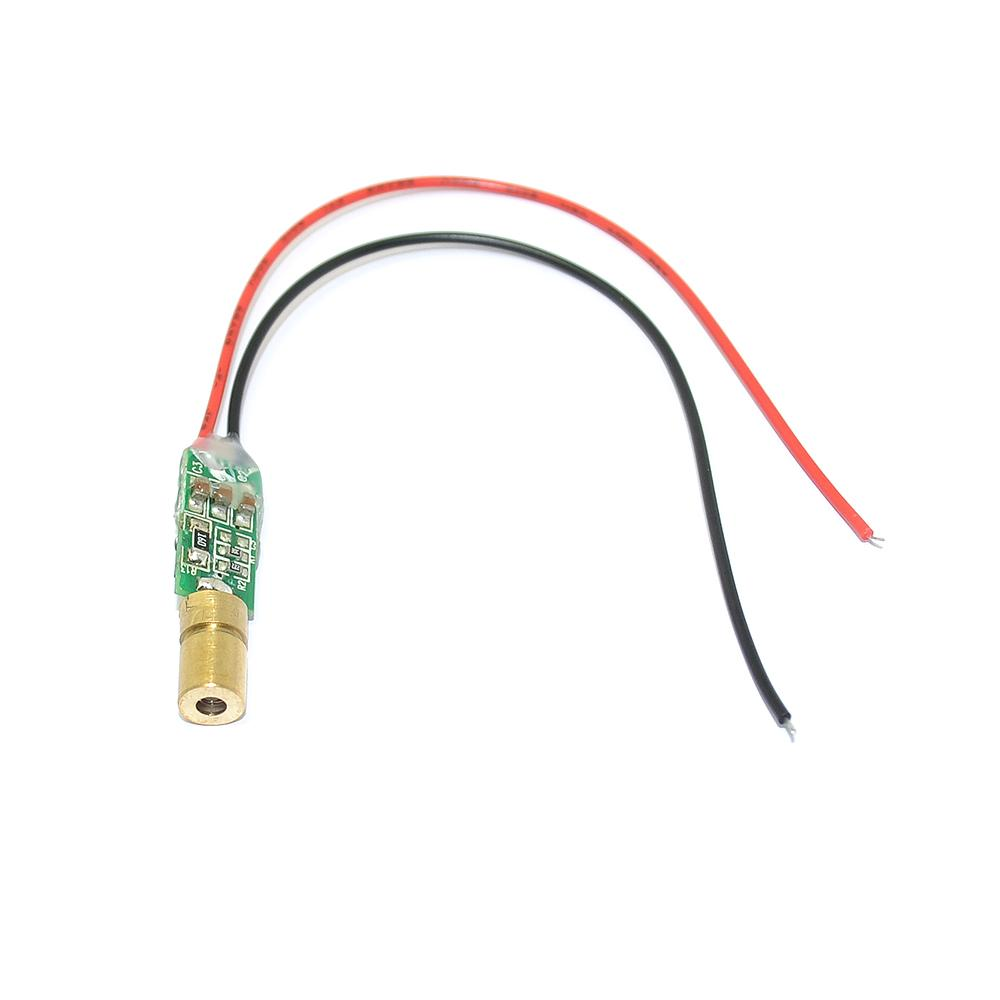 520nm 5mW Green Point Laser Diode Outdoor Stage Laser Light Diode High Quality Dot Laser Module