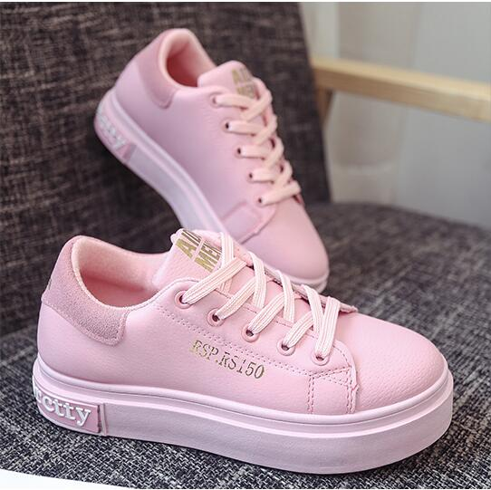 Vente chaude 2017 Sping Mesh chaussures femmes sport casual chaussures  respirant chaussures femme rose Couleur chaussure