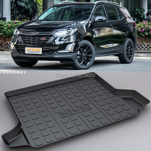 LUCKEASY Non-Slip Waterproof 3D TPO Trunk Boot Cargo Mat Recycled Durable For Chevrolet equinox Car-styling