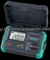 빠른 도착 kyoritsu 4105dl-h kew 4105dl-h 디지털 지구 테스터 (하드 케이스)  0-30 v