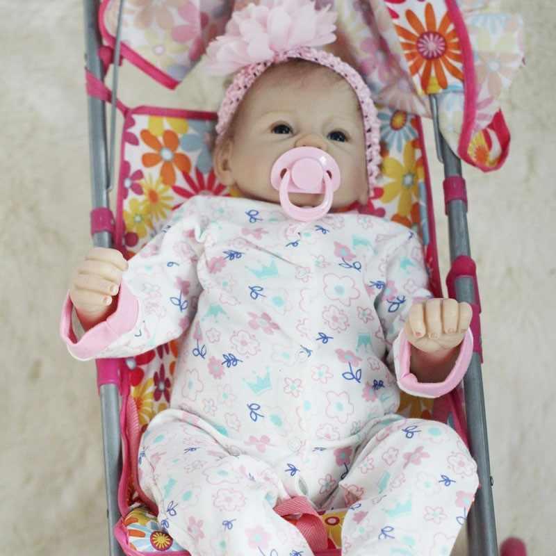 OtardDolls Boneca Reborn 22 pulgadas suave silicona vinilo muñeca 55cm silicona suave Reborn Baby Doll recién nacido realista bebé Reborn muñecas