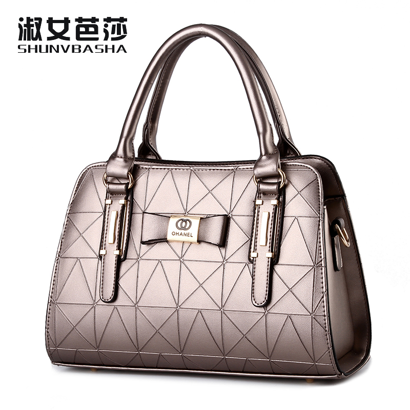 Shoulder Bags 2017 Popular Female Fashion Women Luxury Handbag Pu Leather Fashion Messenger Bag Evening Clutch Top-Handle Bags* 2017 fashion all match retro split leather women bag top grade small shoulder bags multilayer mini chain women messenger bags