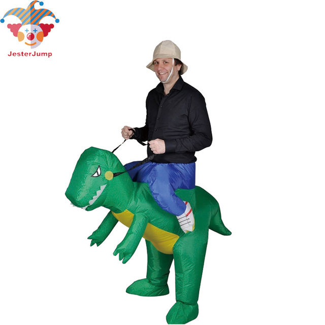 Halloween Inflatable Dinosaur Costume Carnival T-REX Riding Outfit Adult Dragon Dino Rider Fancy Dress  sc 1 st  AliExpress.com & Halloween Inflatable Dinosaur Costume Carnival T REX Riding Outfit ...