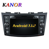 KANOR Android 7 1 Quad Core RAM 2G Car DVD Player For Suzuki Swift 2011 2012