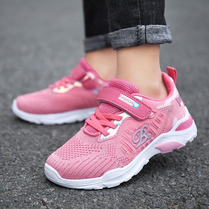 ULKNN 6 girls mesh sneakers kids new 8
