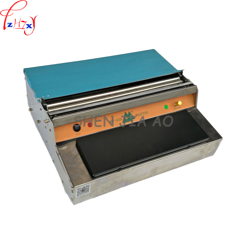 plastic wrap machine supermarket vegetables and fruits cling film Da Baoji plastic film cutting machine 220V MW-450 1pc семена flowers and plant supermarket